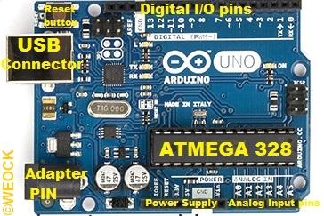 Arduino Uno Labelling