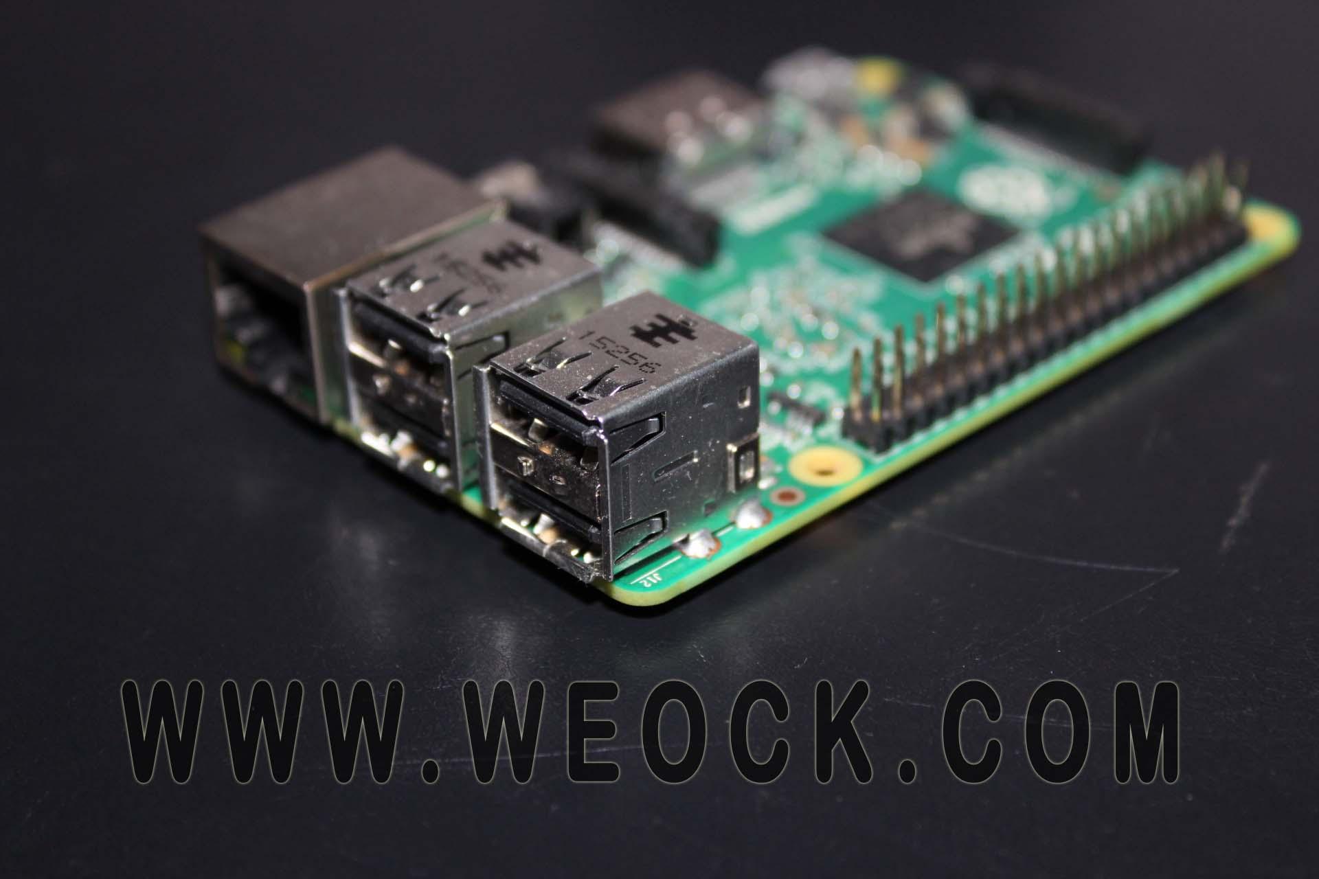 raspberry pi usb ports image
