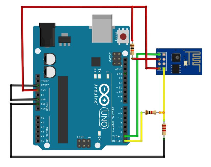 ESP8266-to-Arduino-TTL
